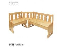 Rohové lavice - NR101