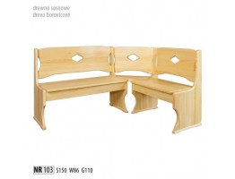 Rohové lavice - NR103