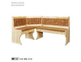 Rohové lavice - NR107