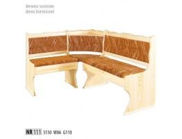 Rohové lavice - NR111