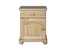 Borovicový nočný stolík