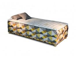 Manželská posteľ Boxspring NOVO bez čela
